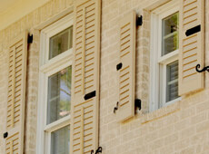 beautiful exterior shutters